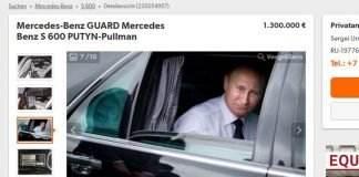 mercedes s600 pullman guard vladimir putin