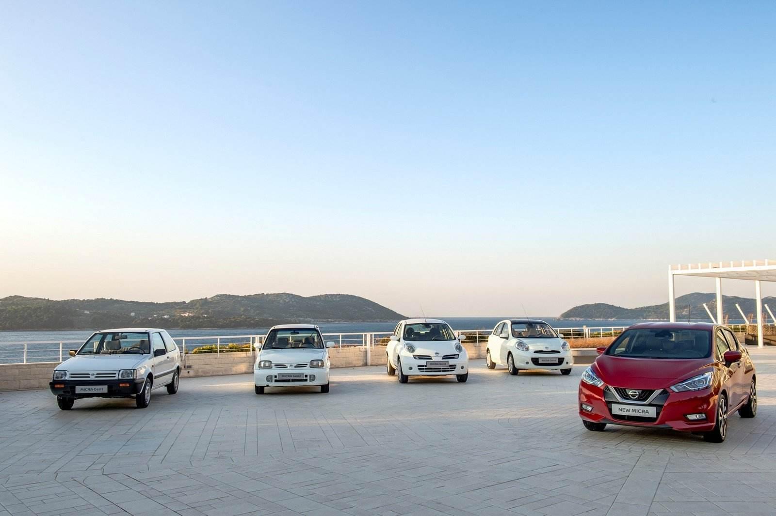 Nissan Micra Heritage line-up