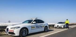 alfa romeo giulia politia rutiera